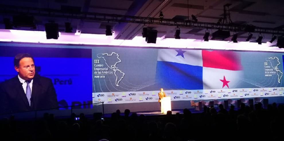 Varela expone su modelo de inversión inclusiva y lucha contra la corrupción