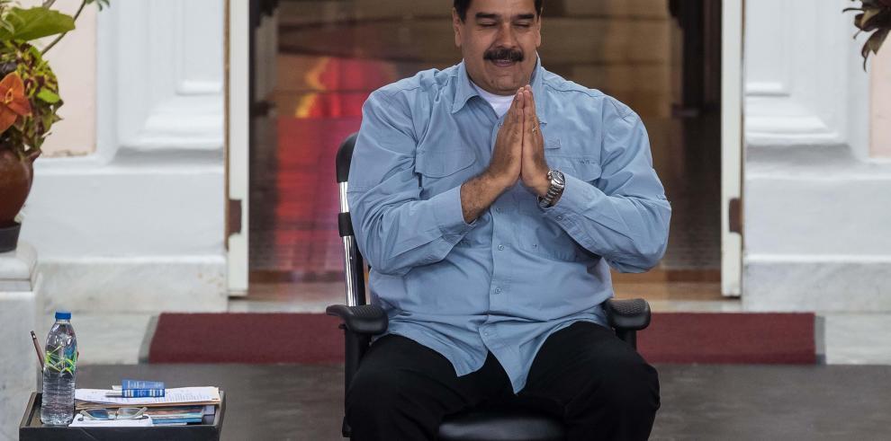 Maduro pide a Mogherini enviar una misión de observación para las elecciones