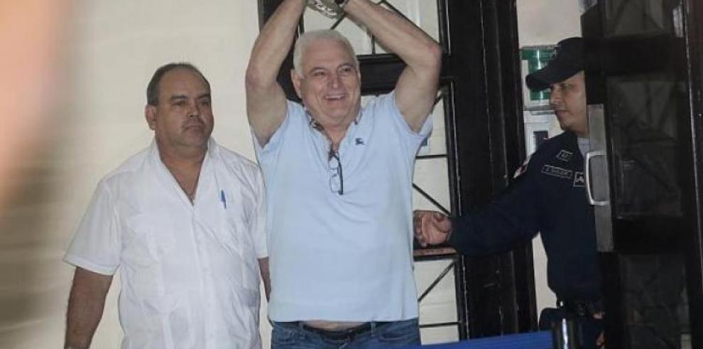 Martinelli es trasladado al hospital Santo Tomás