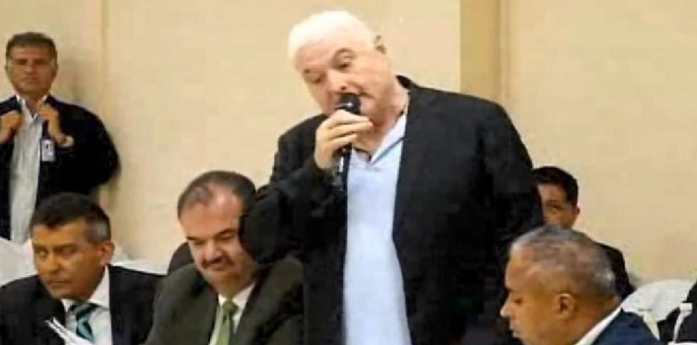 Juez de garantías declara receso en diligencia de comunicación a Martinelli