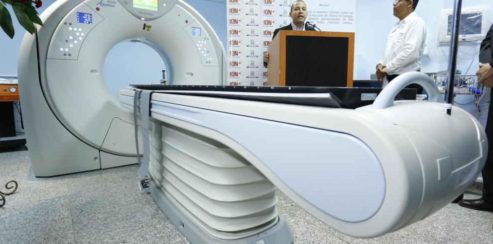 Más de 3 mil pacientes con cáncer se beneficiarán delSistema de Tomografía Computada Multicorte