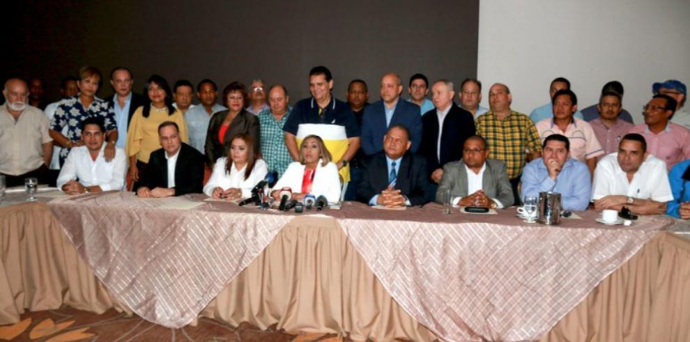 'Ejecutivo fuerza una alianza PRD CD para las elecciones', Afú