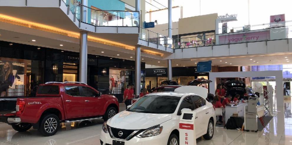 El 'Nissan Tour' se tomó Multiplaza