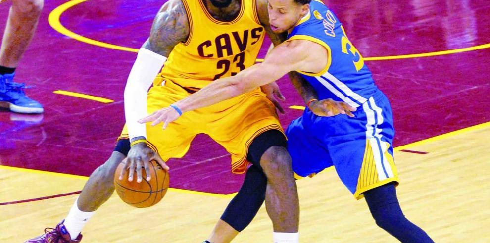 James vs. Curry IV: en la batalla decisiva