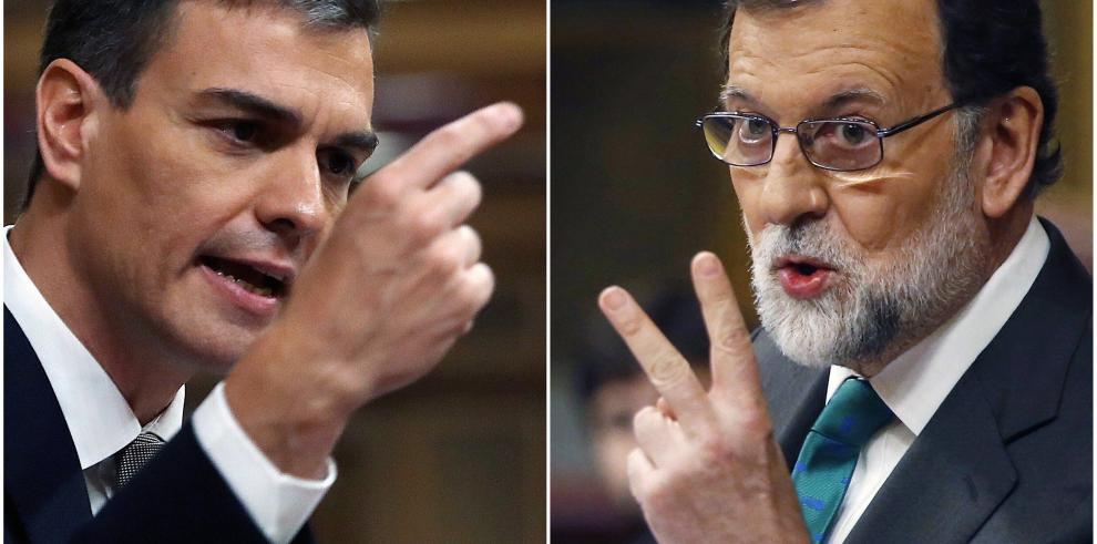 Socialista Sánchez enarbola la regeneración para sacar a Rajoy del Gobierno
