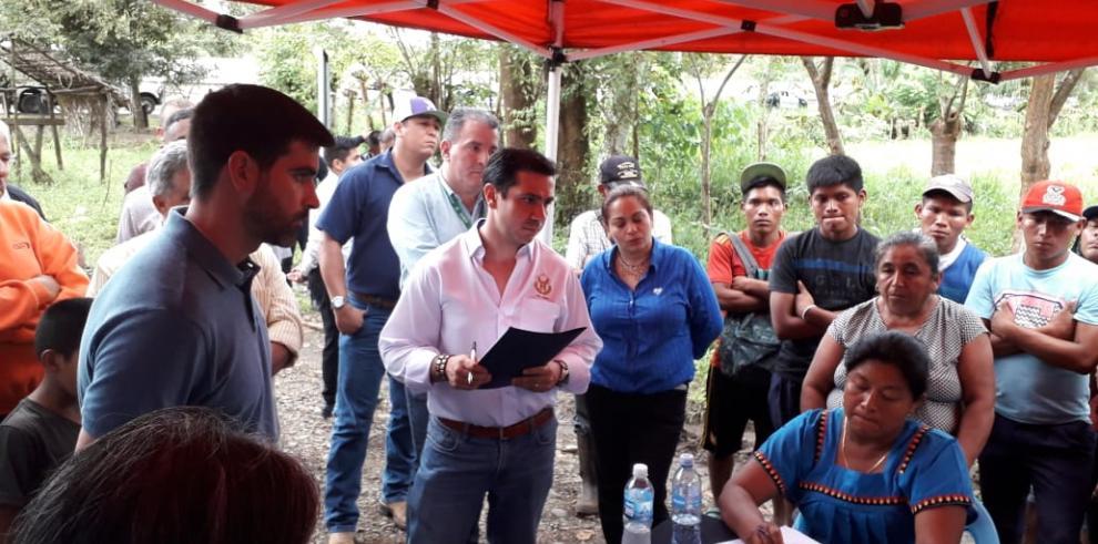 El MOP define acuerdo con manifestantes tras cierres en la carretera Panamericana