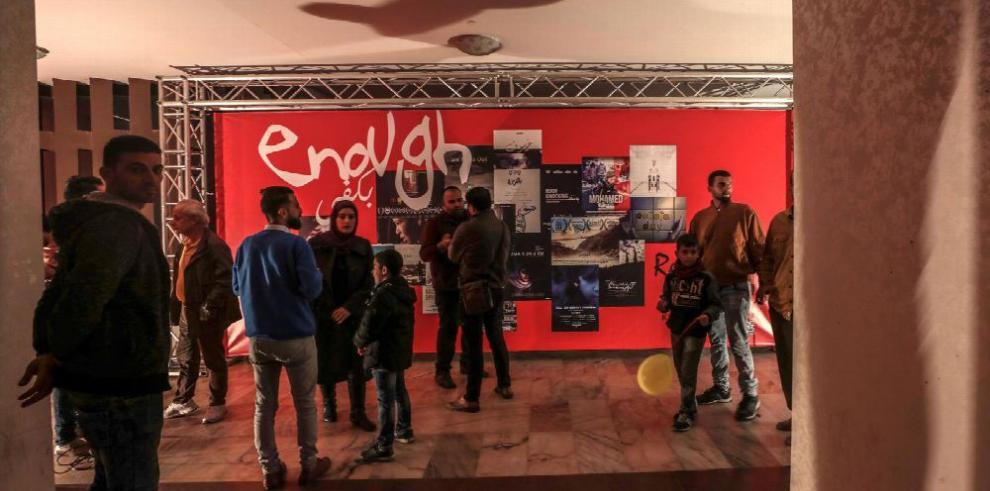 Gaza, un enclave sin pantallas, dice 'Basta' en su festival de cine