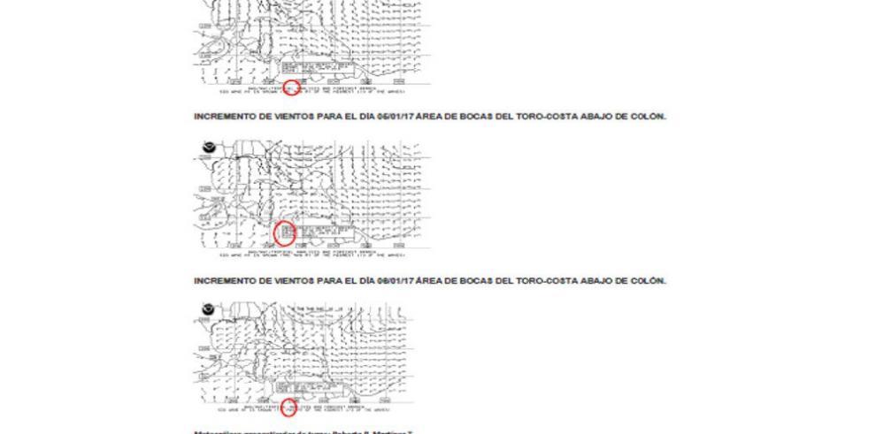 AMP alerta a embarcaciones por sistema de baja presión en Panamá
