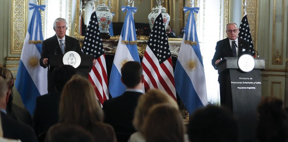 Estados Unidos y Argentina estudian sanción petrolera a Venezuela