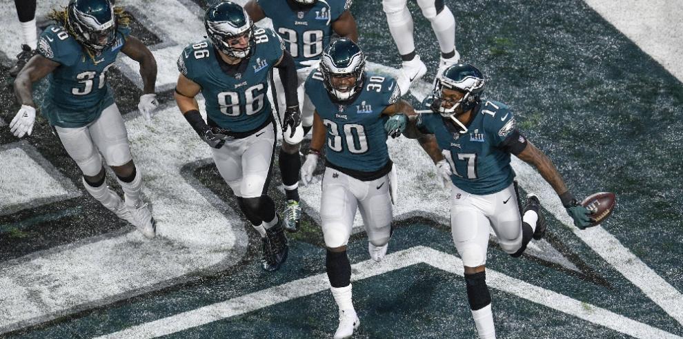 Los Eagles de Filadelfiase llevan el Super Bowl 2018