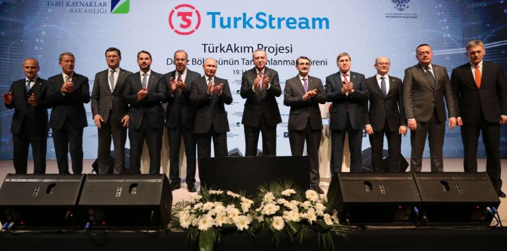 Nace TurkStream, el megagasoducto ruso