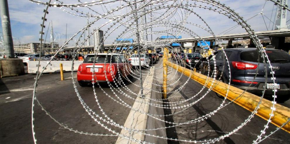 Haitianos muestran camino a seguir a caravana migrante