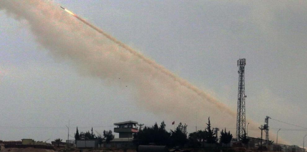 Fuerzas turcas usan 'gas químico' en Siria