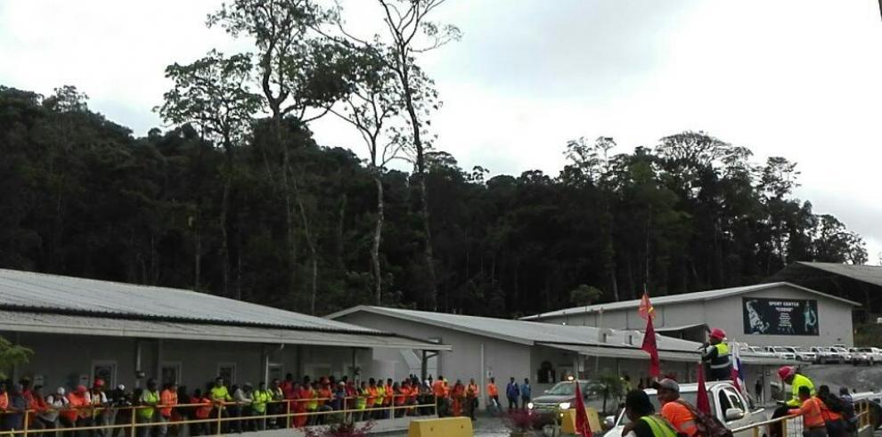 Diez mil trabajadores de Minera Panamá han sido evacuados