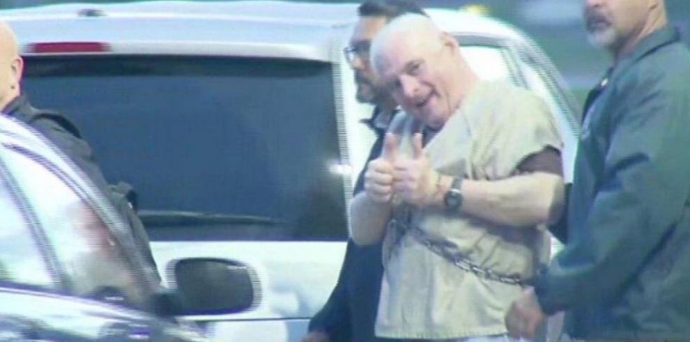 Martinelli, extraditado, detenido y hospitalizado