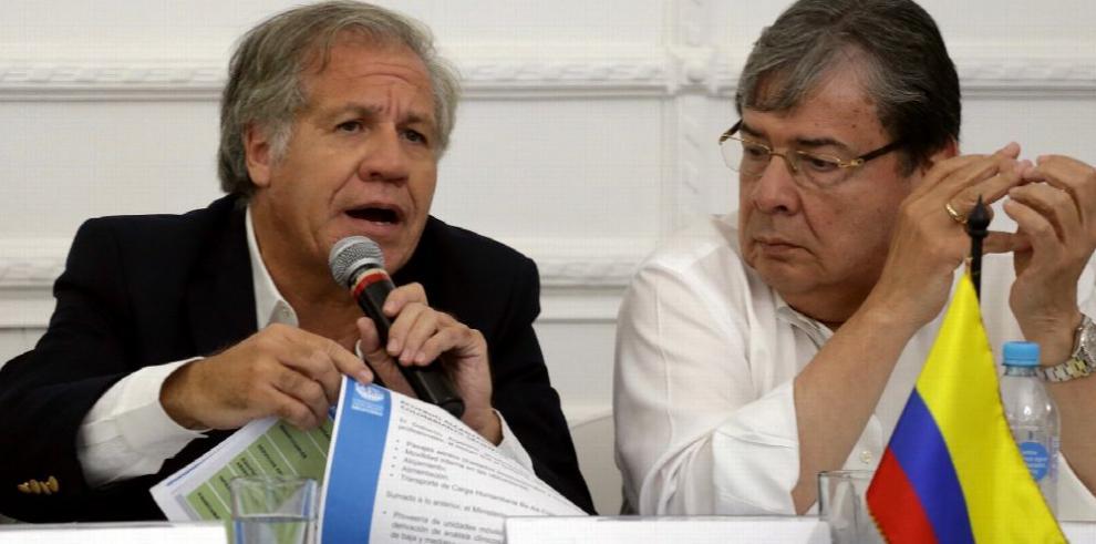 Almagro contempla intervención militar contra Venezuela
