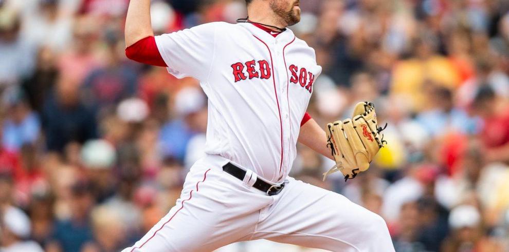 Boston sacan a Wright de la lista de sus lanzadores por lesión