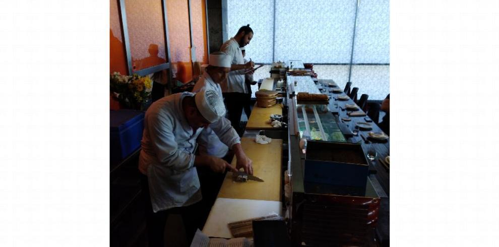 Cocina japonesa en toda su modernidad