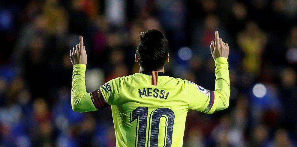 Messi liquida al Levante