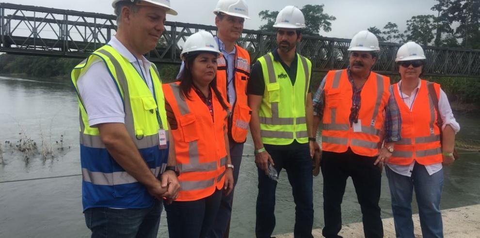 Costa Rica y Panamá listos para la construcción del puente sobre el río Sixaola