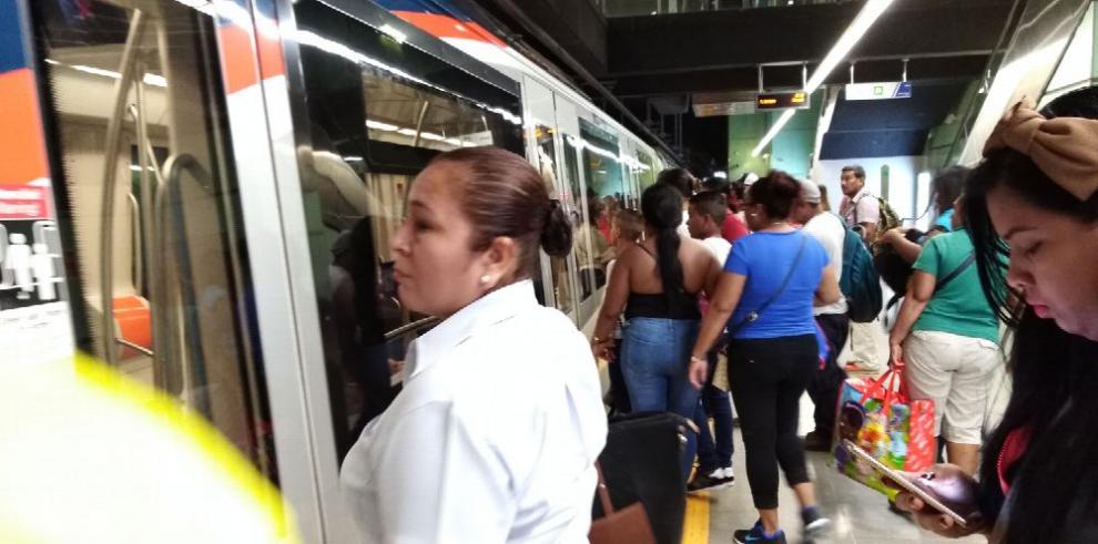 Temporal afectó el funcionamiento de la Línea 1 del Metro de Panamá