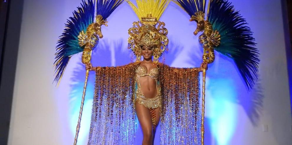 Miss Supranational Panamá lucirá en Polonia traje de fantasía en honor al Canal