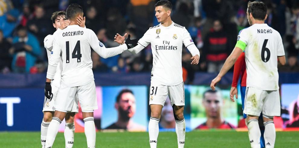 El Real Madrid resucita