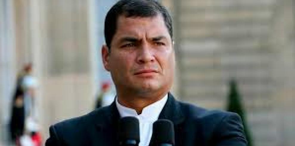 Correa dice que fallo de jueza ecuatoriana en su contra era hecho consumado