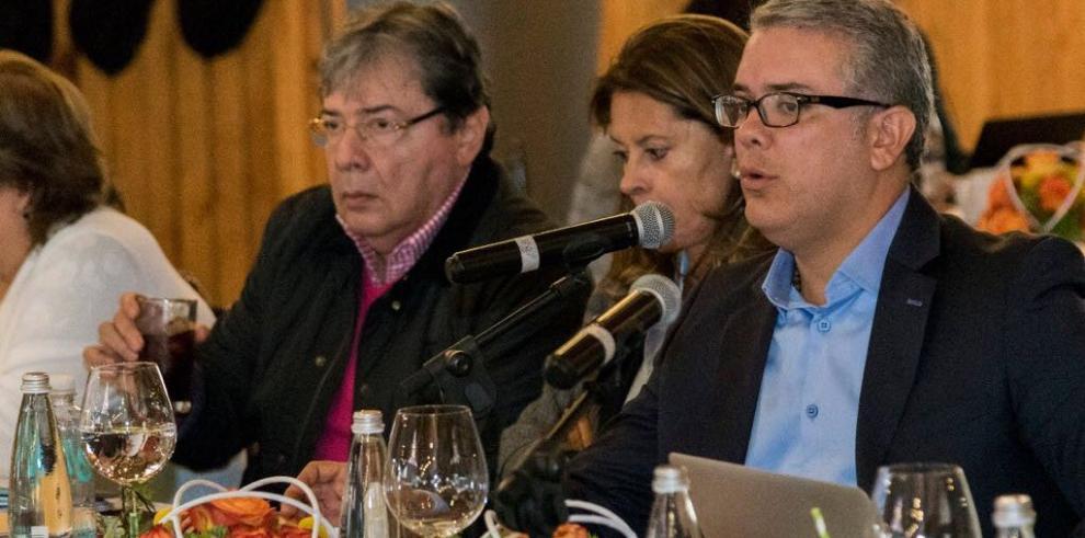 Duque dice que su reto es el crecimiento de Colombia sin divisiones sociales