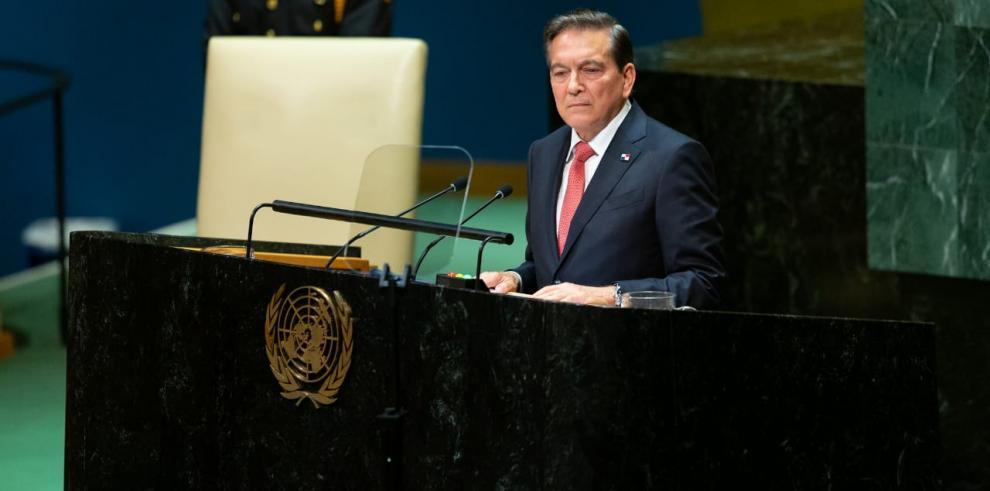 Laurentino Cortizo, presidente de Panamá, septiembre 2019 ONU
