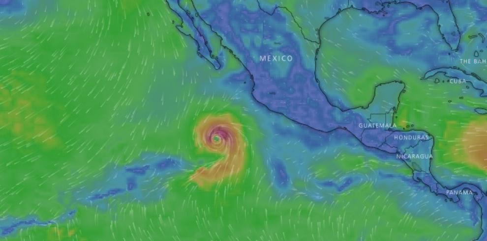 Aletta se convierte en el primer huracán de la temporada en el Pacífico