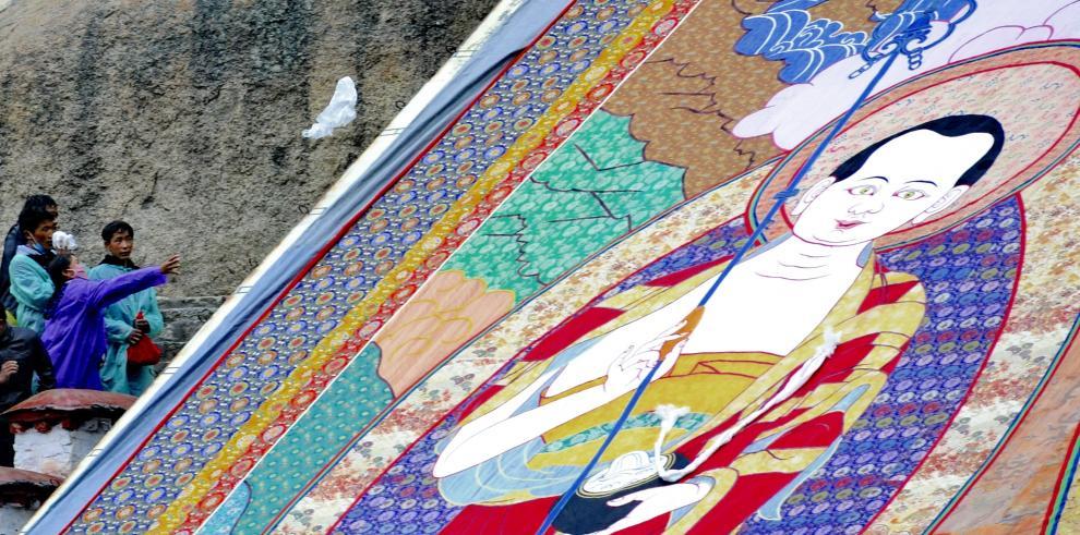 Festival del Yogurt empieza en Tíbet