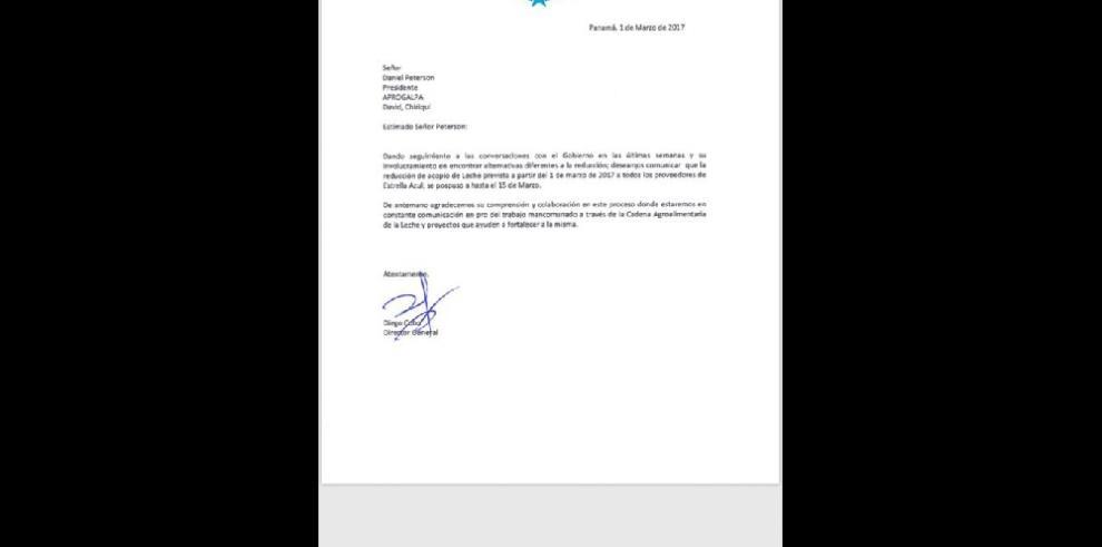 Estrella Azul recortará 15% la compra de leche grado A