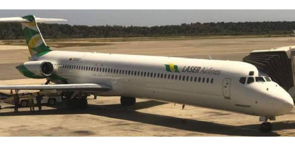 Aerolínea venezolana Laser Airlines abre ruta Guayaquil-Caracas