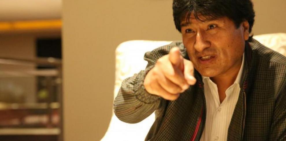 Morales advierte a Estados Unidos de que Bolivia