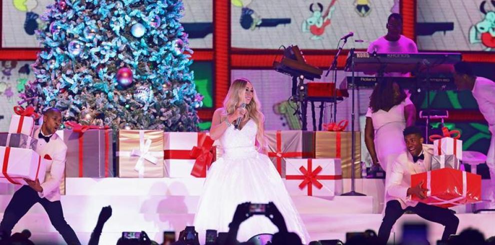 La fantasía de Mariah Carey empapa Madrid de orgullo navideño