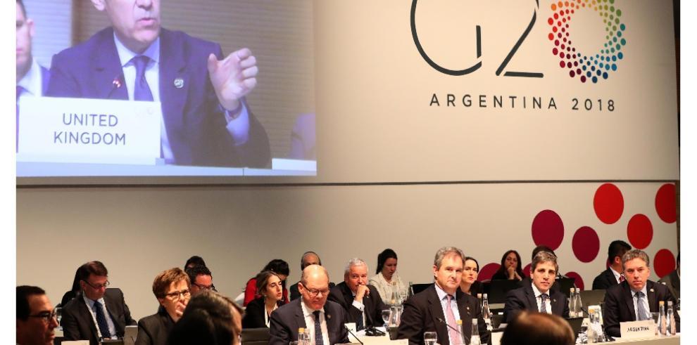 G20 acuerda 'intensificar' los esfuerzos para mitigar los riesgos de la economía