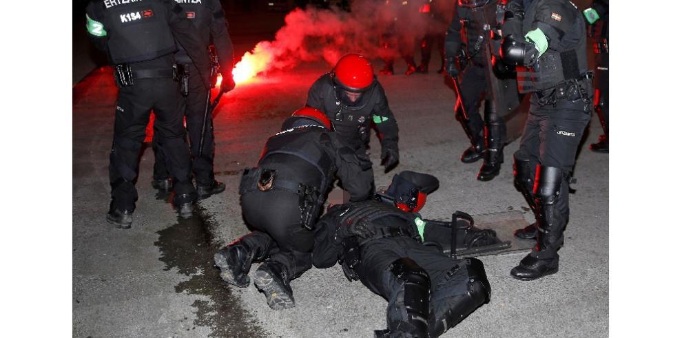 Muere policía durante altercados entre ultras delAthletic ySpartak