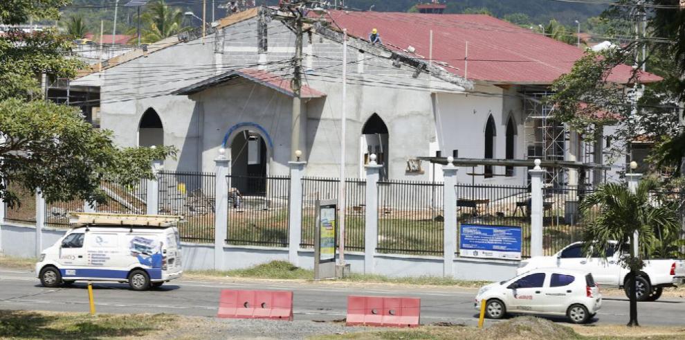 Policía Nacional construye iglesia de $495 mil en su sede principal