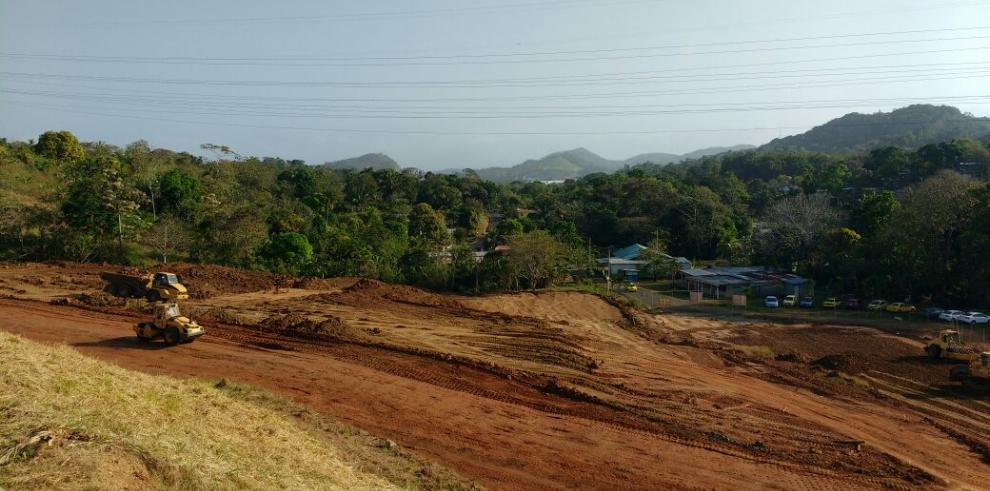 La construcción del nuevo Parque Municipal en Chilibre avanza un 28%