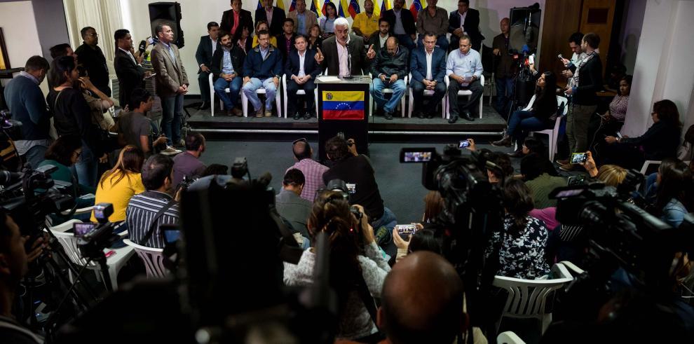 Opositor venezolano Borges se reúne hoy con el presidente de Panamá