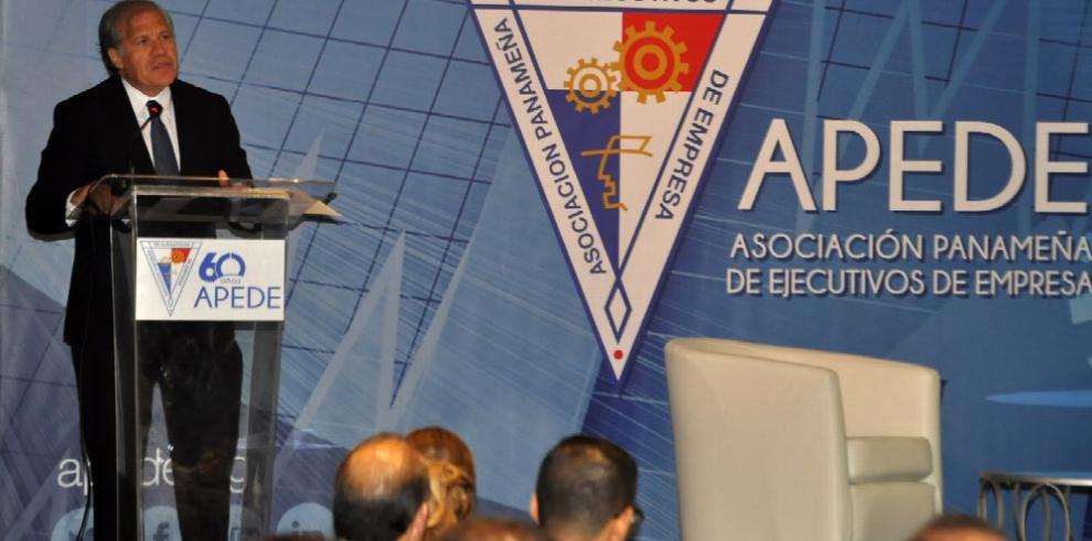 'Se requieren Estados transparentes y eficientes', Almagro