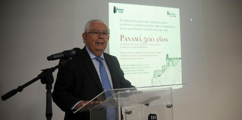 Un libro para conmemorar los 500 años de Panamá Viejo