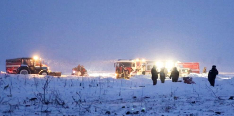 Accidente aéreo en Rusia deja 71 fallecidos