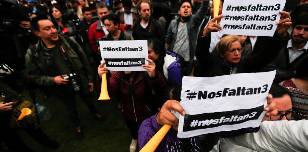 Campaña de solidaridad sin precedentes en Ecuador por captura de periodistas
