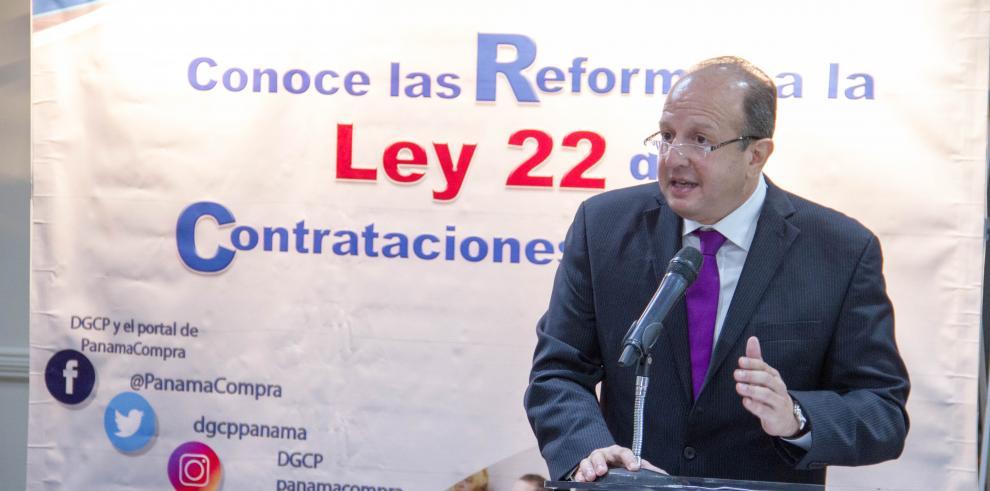 Se inicia divulgación de reformas a ley de contrataciones públicas