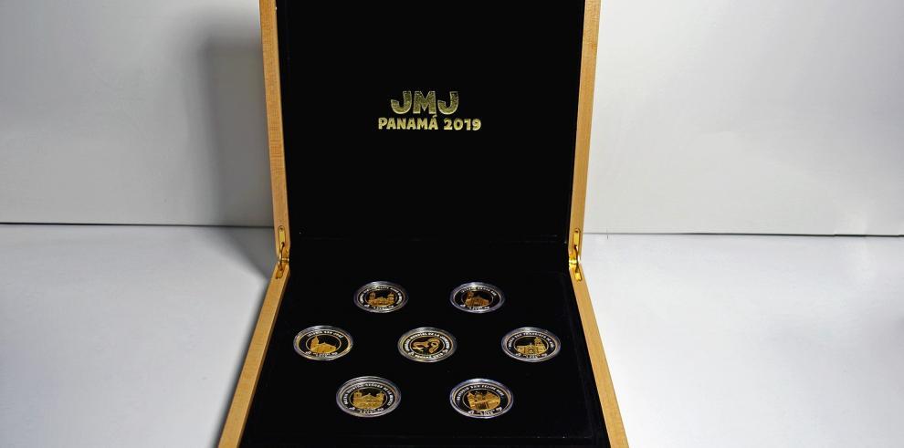 Dos monedas de la JMJ circularán desde este lunes 29 de octubre