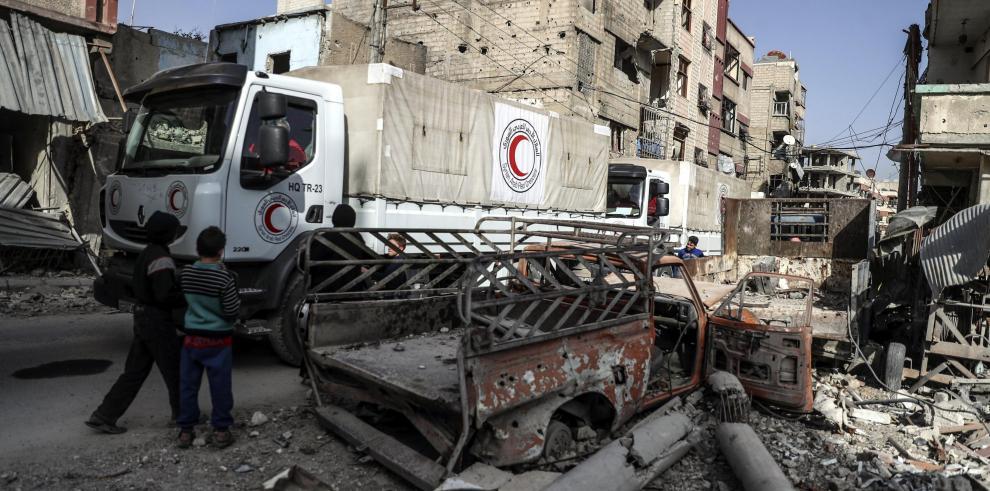 El Gobierno sirio asegura que cumple con todas las leyes humanitarias