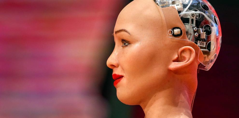 Primera ciudadana androide del mundo inaugura el Foro de Innovación Digital de Taiwán