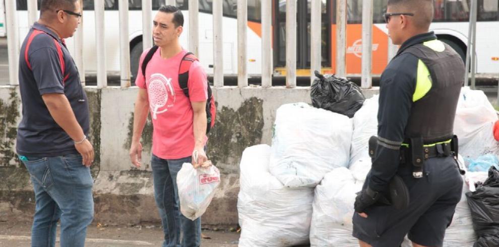 Operativos en San Miguelito por la mala disposición de la basura